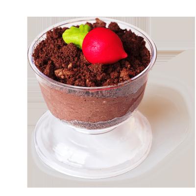 Десерт Овощная грядка