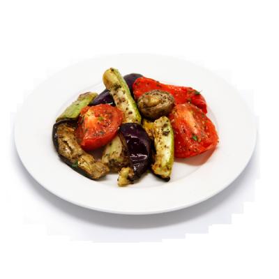 Овощи-гриль с грибами