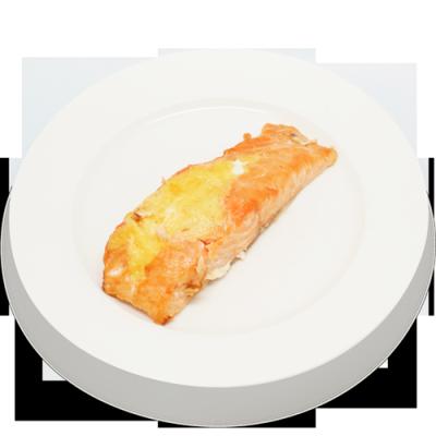 Лосось в сырном соусе