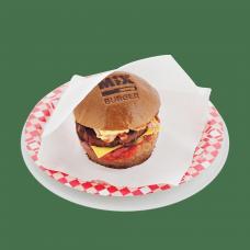 Бургер BLACK с беконом