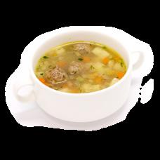 Суп картофельный с фрикадельками
