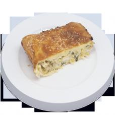 Пирог наливной с савойской капустой