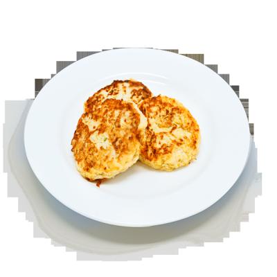 Оладьи из тыквы и картофеля 24 карата