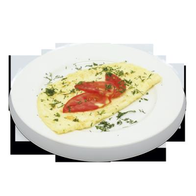 Омлет натуральный из 2-х яиц